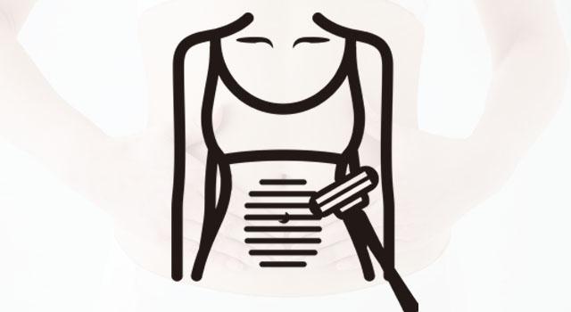カミソリ・シェーバーはへそ周りの腹毛に使いやすい?